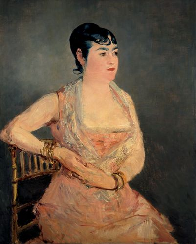 Manet - Lady in Pink