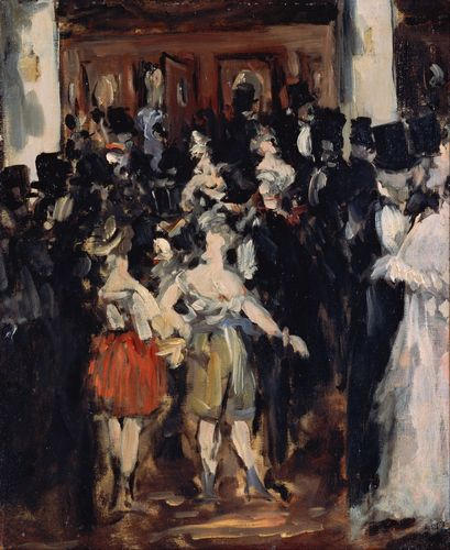 Manet - Masked ball at the Opera