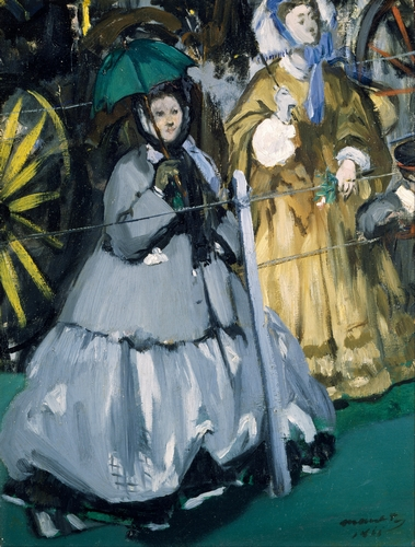 Manet - Spectators at the Races