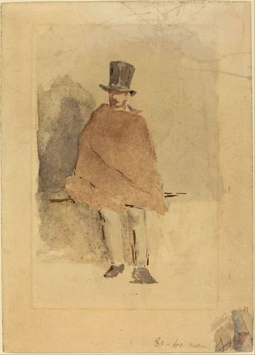 Manet - The Man in the Tall Hat