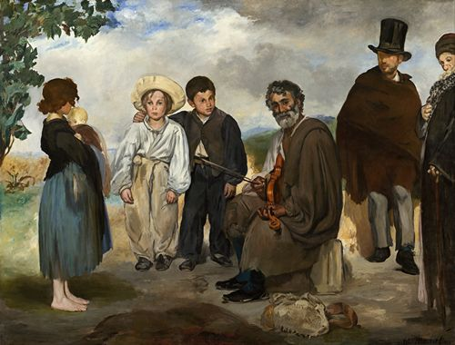 Manet - The Old Musician