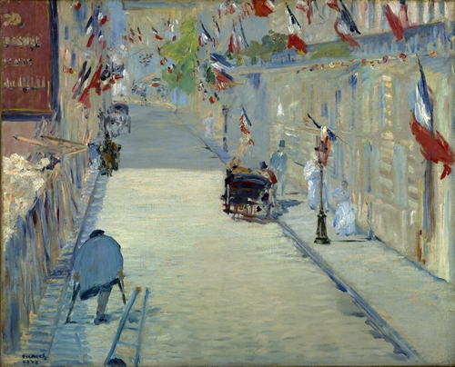 Manet - The Rue Mosnier