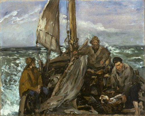 Manet - The Toilers of the Sea