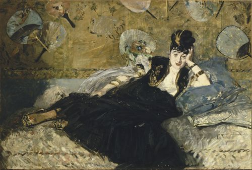 Manet - Woman with fans