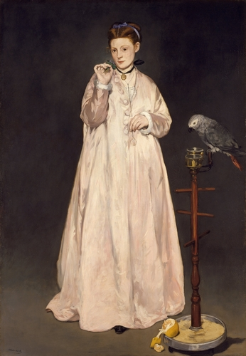 Manet - Young lady in 1822