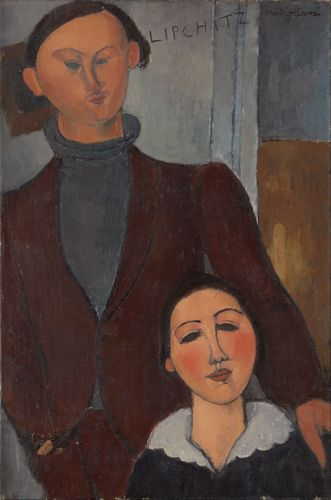 Modigliani - Jacques and Berthe Lipchitz