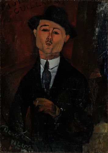 Modigliani - Paul Guillaume, Novo Pilota