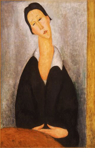 Modigliani - Portrait of a Polish Woman