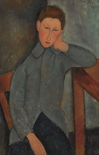 Modigliani - The boy