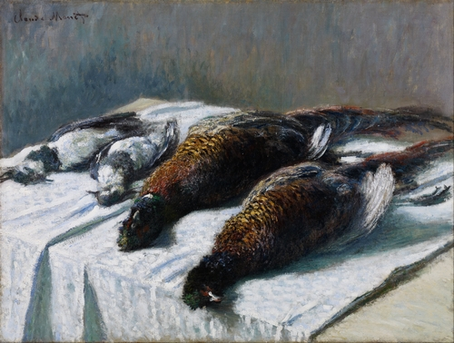 Monet -  Still Life with Pheasants and Plovers