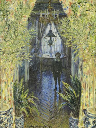 Monet - A Corner of the Apartment