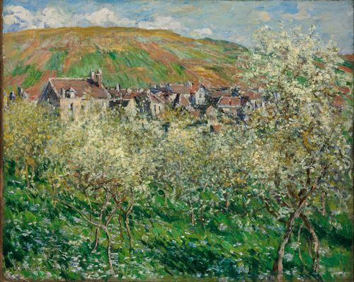 Monet - Flowering Plum Trees
