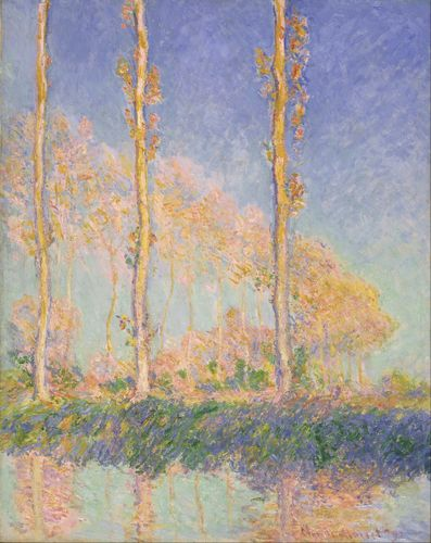 Monet - French Poplars