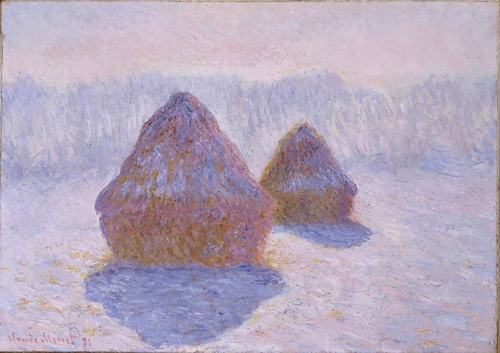 Monet - Haystacks (Effect of Snow and Sun)