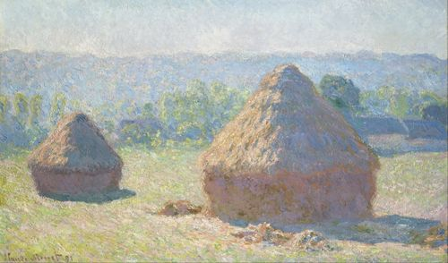 Monet - Haystacks, end of summer