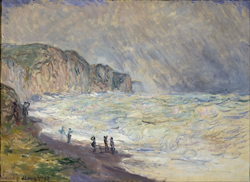 Monet - Heavy Sea at Pourville