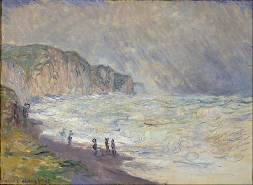 Monet - Heavy Seas at Pourville