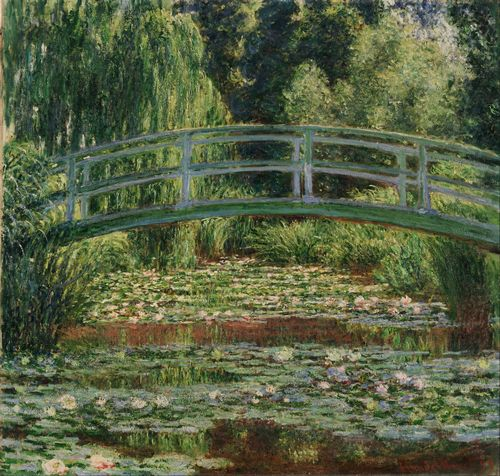 Monet - Japanese Footbridge, Giverny