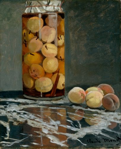 Monet - Jar of Peaches