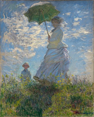 Monet - Madame Monet and Her Son