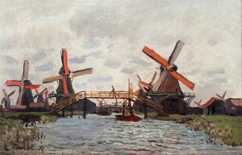 Monet - Mills near Zaandam