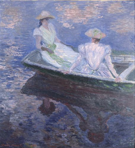 Monet - On the Boat