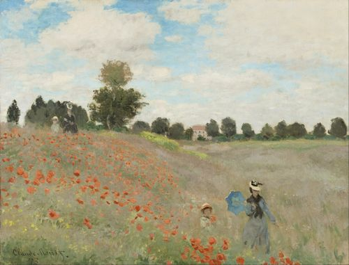 Monet - Poppy field 2