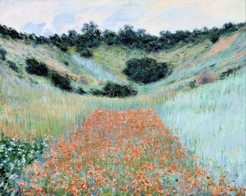 Monet - Poppy field near Giverny