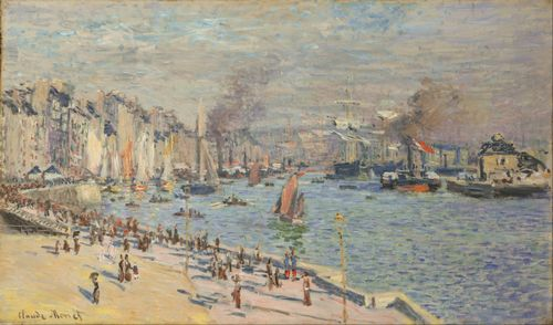 Monet - Port of Le Havre