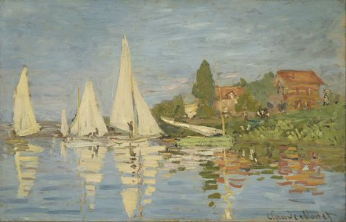 Monet - Regattas at Argenteuil