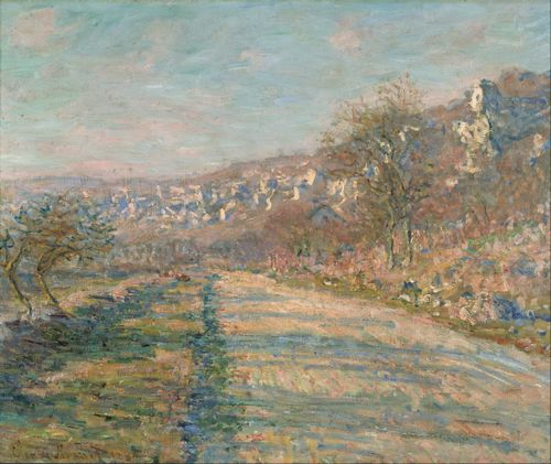 Monet - Road of La Roche-Guyon