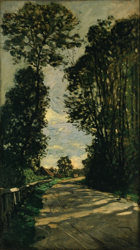 Monet - Road of the Farm Saint-Simeon