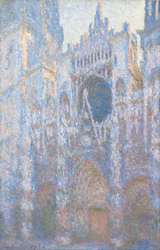 Monet - Rouen Cathedral West Facade