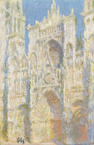 Monet - Rouen Cathedral in sunlight