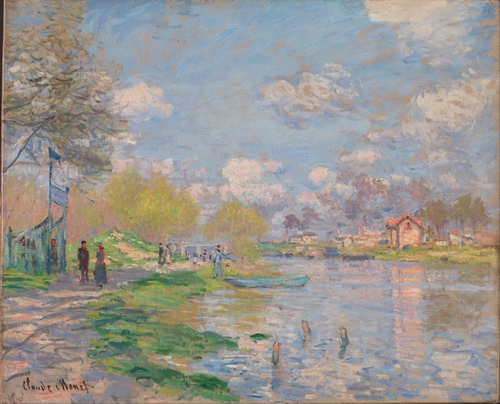 Monet - Spring by the Seine