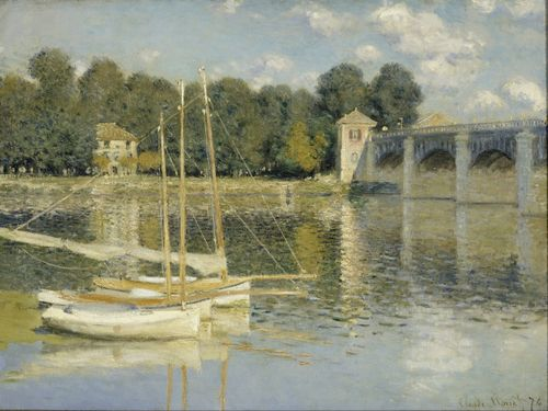 Monet - The Argenteuil Bridge