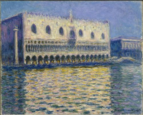 Monet - The Doges Palace