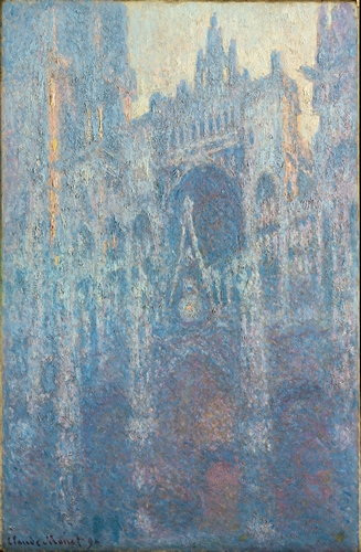 Monet - The Portal of Rouen Cathedral in Morning Light