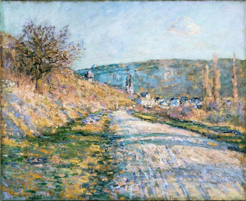 Monet - The Road to Vetheuil