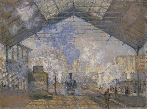 Monet - The Saint-Lazare Station