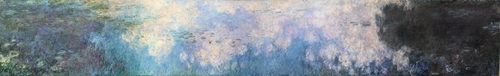 Monet - The Water Lillies - Clouds