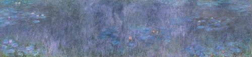 Monet - The Water Lillies - Tree reflections