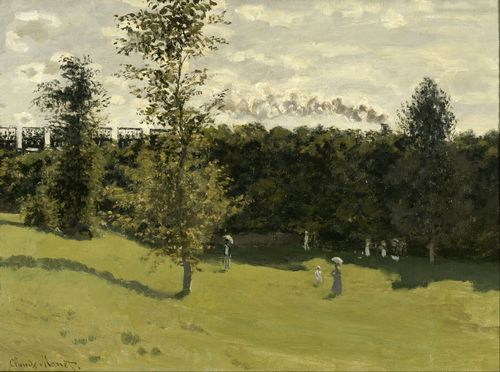 Monet - Train in the Countryside