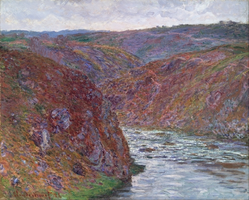 Monet - Valley of the Creuse