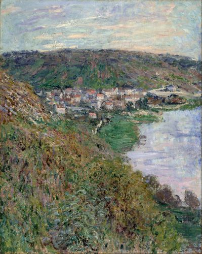 Monet - View of Vetheuil
