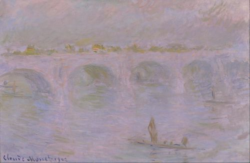 Monet - Waterloo Bridge in London