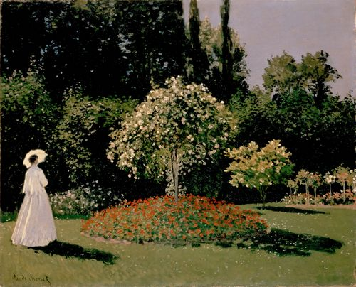 Monet - Woman in the garden