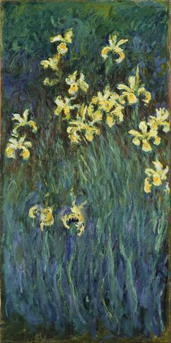 Monet - Yellow Irises