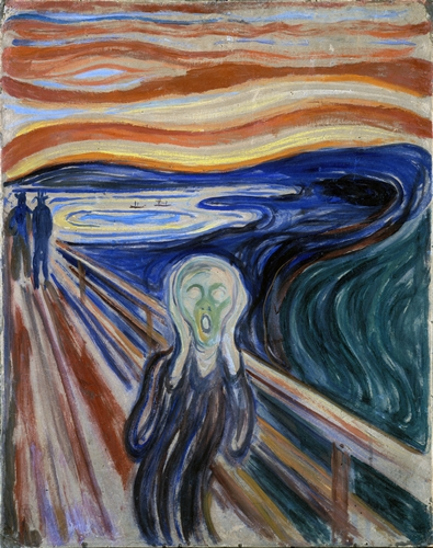 Munch - The scream! (Very Large Version)