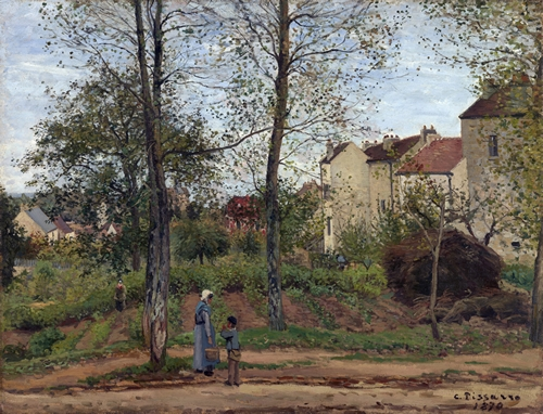 Pissarro - Houses at Bougival